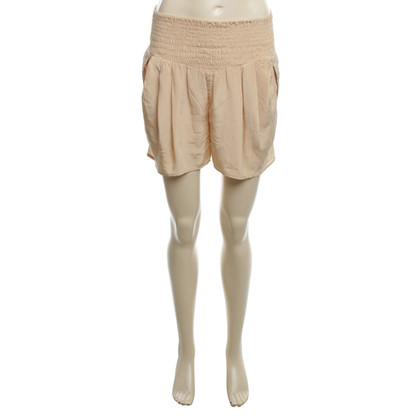 Antik Batik Silk-shorts in nude