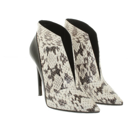 Barbara Bui Ankle boots in Reptilleder