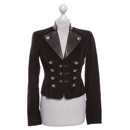 Dolce & Gabbana Cord-Blazer in Braun