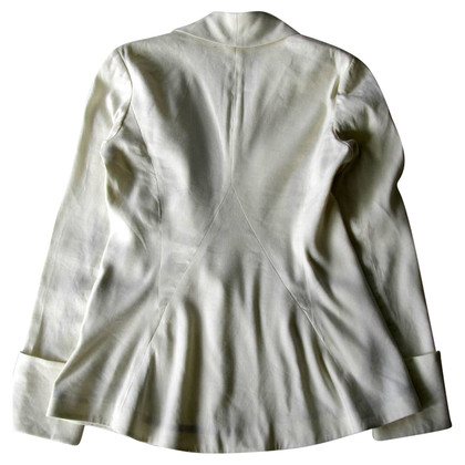 Diane von Furstenberg Leinen Jacke 'Bianca'