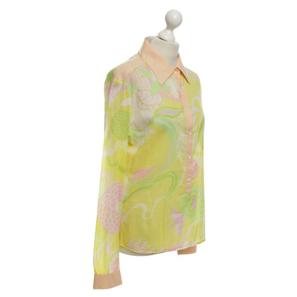 D&G Blouse with colorful pattern
