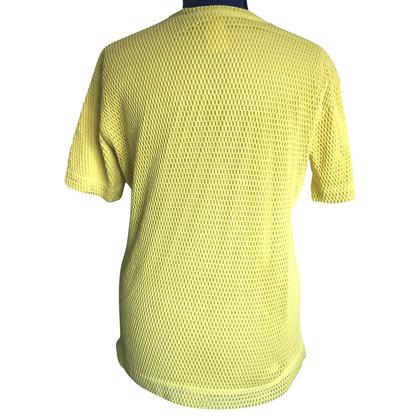 Pierre Balmain Net shirt in yellow