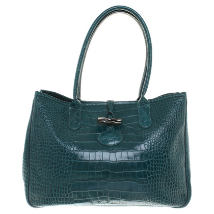 Longchamp Handbag in petroleum