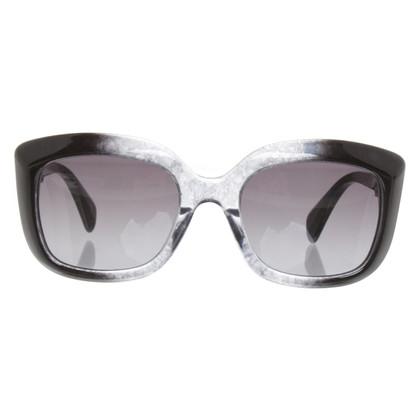 Alexander McQueen Sonnenbrille in Grau
