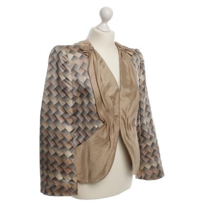 Armani Collezioni Silk Blazer pattern
