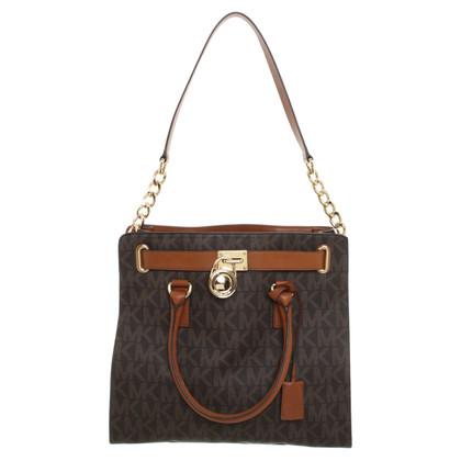 """Michael Kors """"Studio Hamilton Bag Large"""" in Brown"""