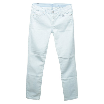 7 For All Mankind Jeans in lichtblauw