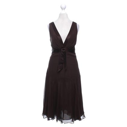 Ted Baker Silk dress in brown