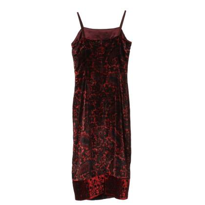 Hugo Boss Velvet dress in Paisley pattern