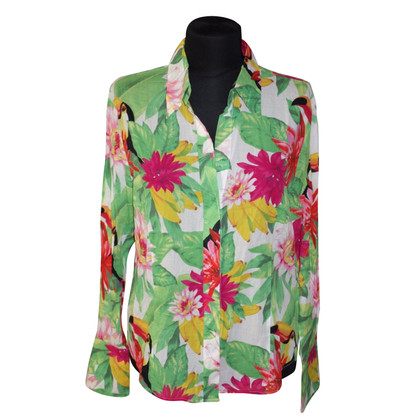 Escada Blouse with floral print