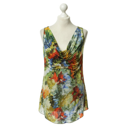 Jean Paul Gaultier Top mit Print