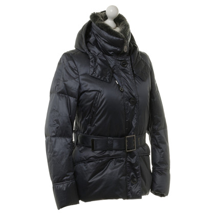 Peuterey Down jacket with fur trim