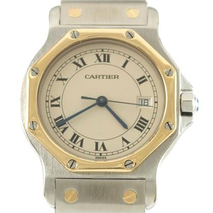 "Cartier ""Santos Ronde Quartz Unisex Revision"""