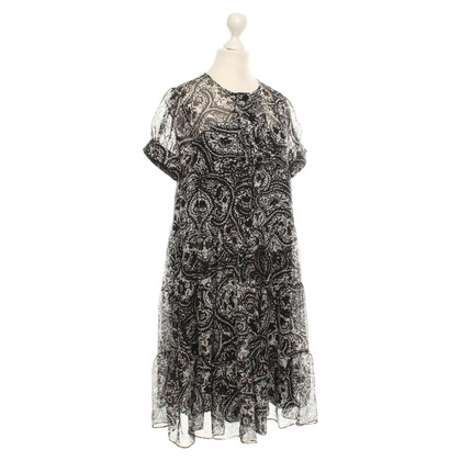 Diane von Furstenberg Silk dress with pattern