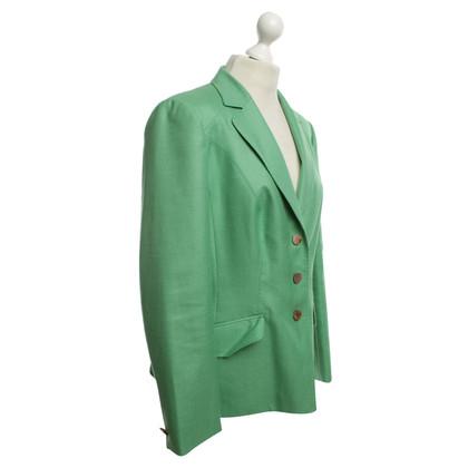Rena Lange Elegant Blazer in Green