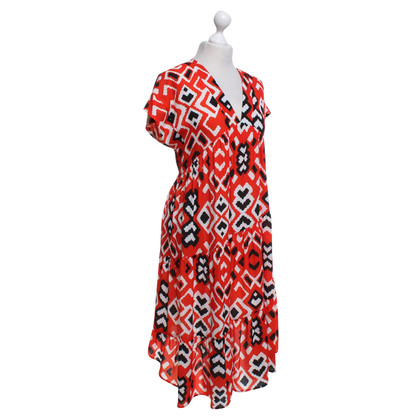 Piu & Piu Kleid mit Muster