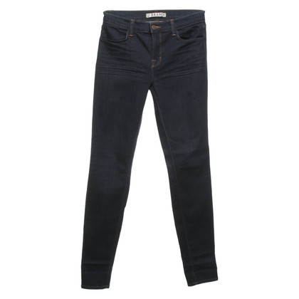J Brand Skinny Jeans in donkerblauw