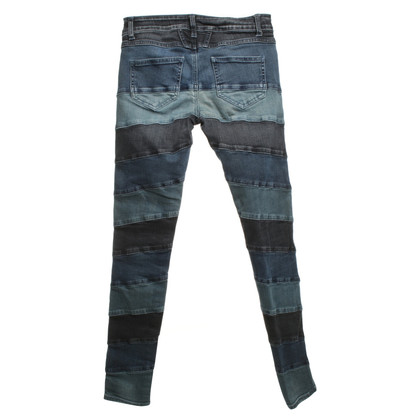 Closed Patch-Work-Jeans