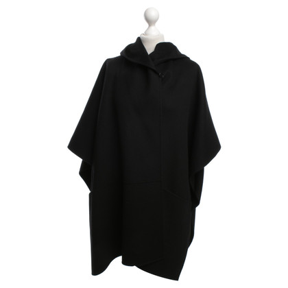 Max Mara Poncho in black