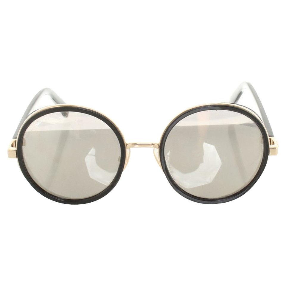 Jimmy Choo Sunglasses with mirrored lenses