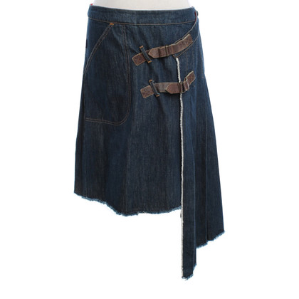 Paul Smith Jeans skirt in dark blue