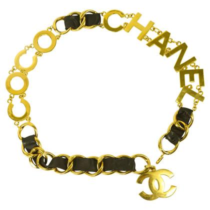 Chanel Gürtel mit Logo-Elementen