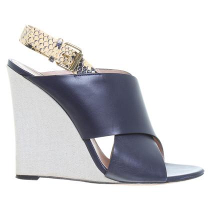 Céline Sandaletten in Blau