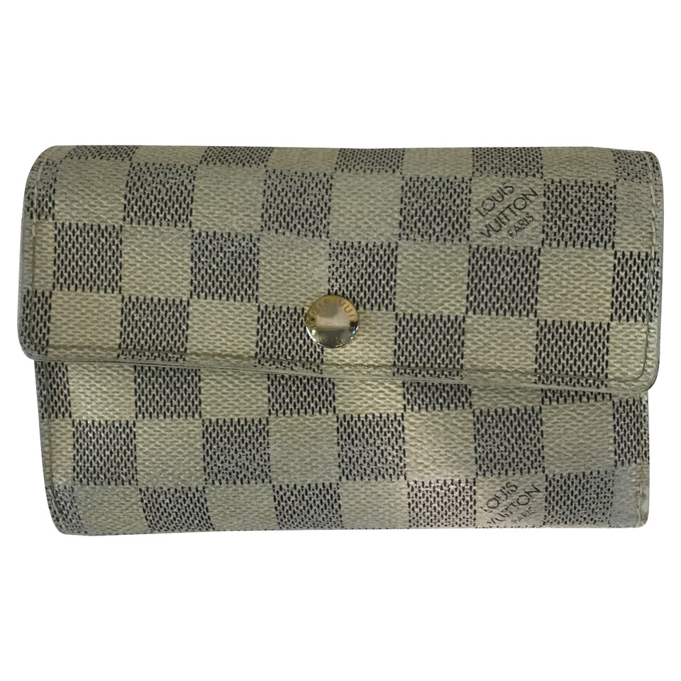 Louis Vuitton Wallet from Damier Azur Canvas