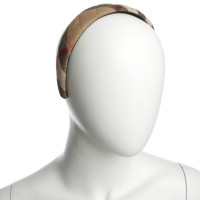 Burberry Prorsum Hair hoop with Nova check pattern