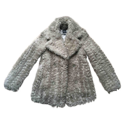 Armani Faux fur jacket in grey