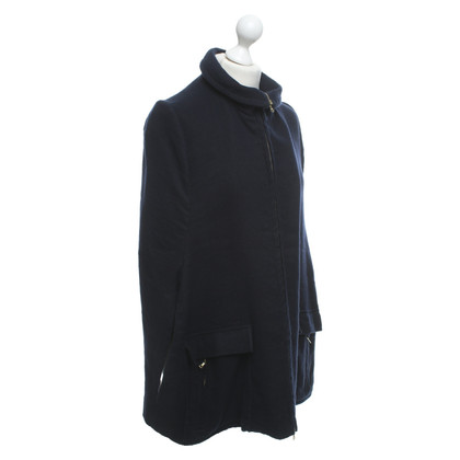 Marni Cape in dark blue