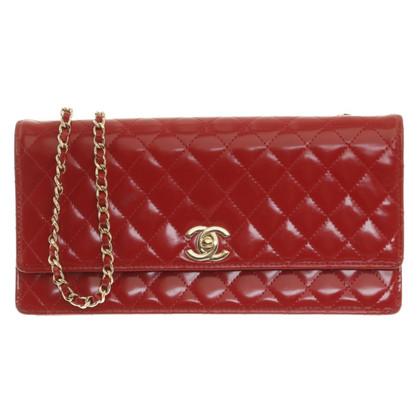 Chanel Borsa in pelle rossa