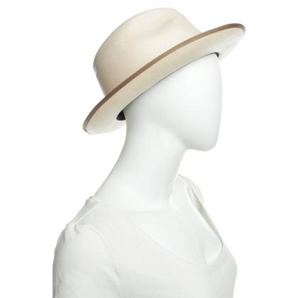 Borsalino Beige straw hat