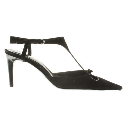 Bally Leather Pump with Cut-Outs