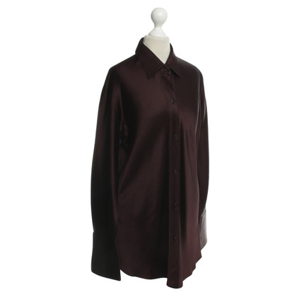 Donna Karan Blouse in Eggplant