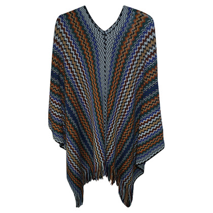 Missoni Poncho in Multicolore