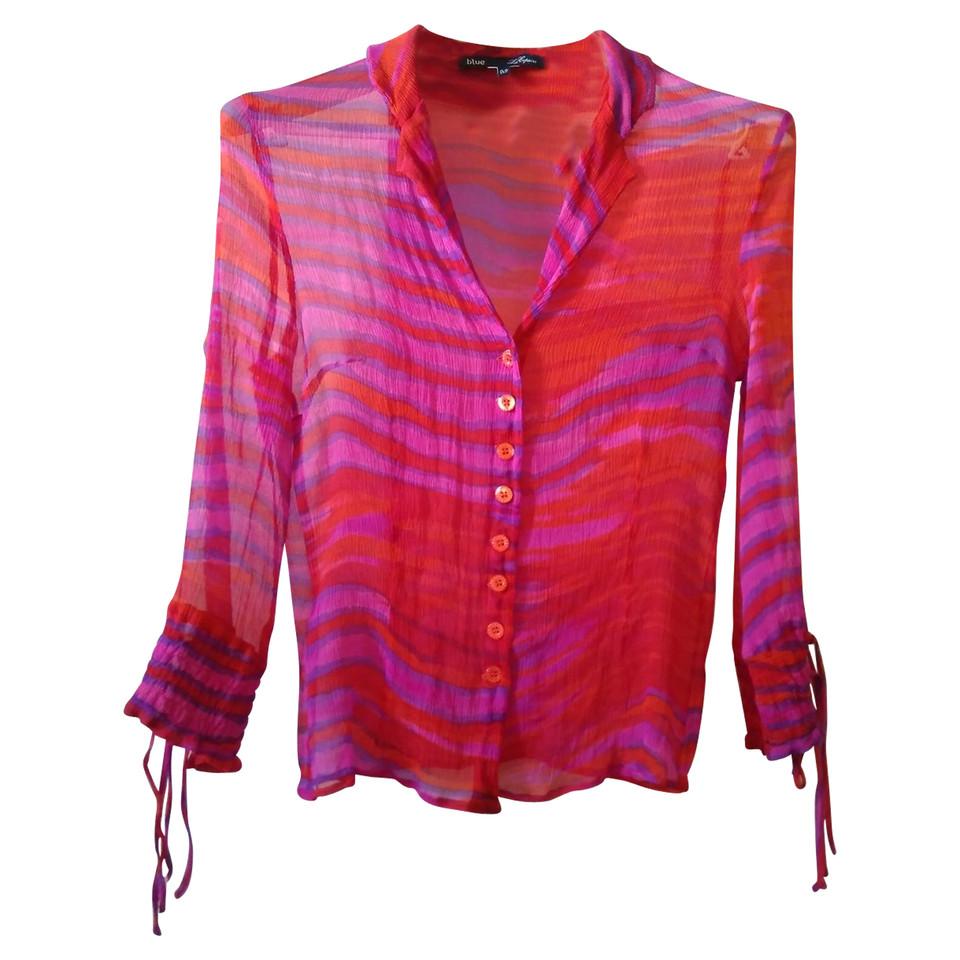 Les Copains silk blouse