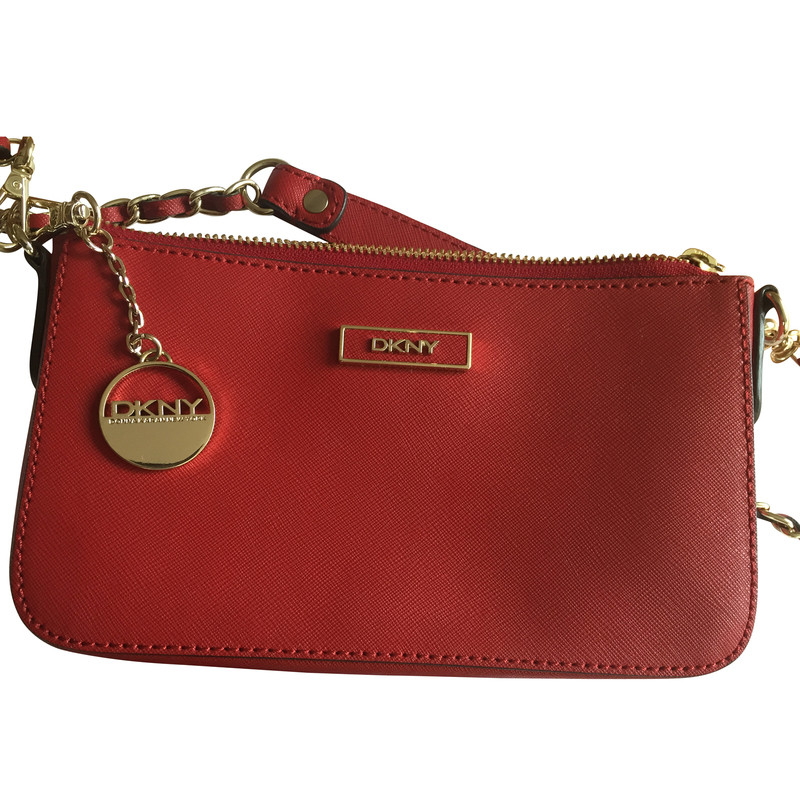 Donna Karan Small red handbag - Buy Second hand Donna Karan Small ...