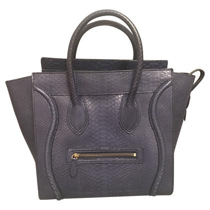 "Céline ""Mini Luggage Bag"" made of python leather"