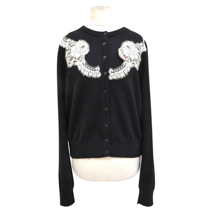 Dolce & Gabbana Cashmere jacket with lace