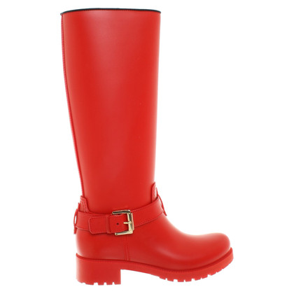 Mulberry Gummistiefel in Rot