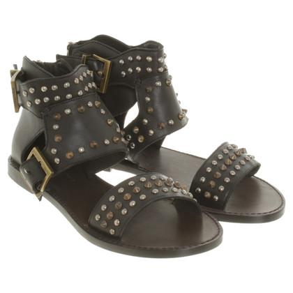 Zadig & Voltaire Sandals with studs