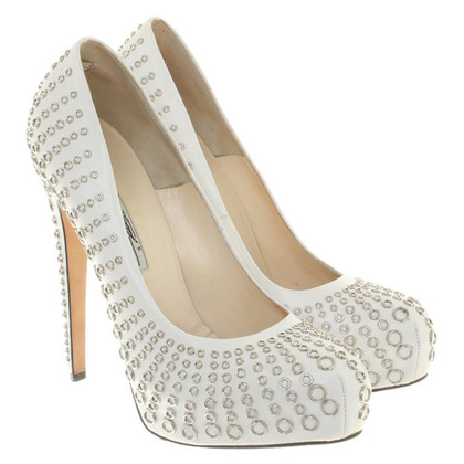 Brian Atwood pumps in white