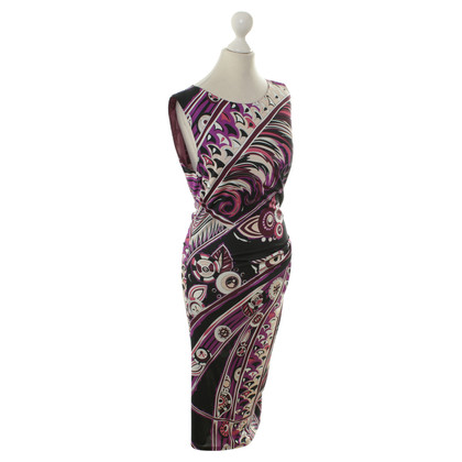 Emilio Pucci Pattern print silk dress