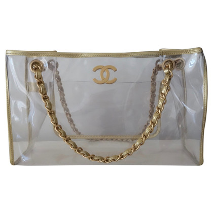 Chanel Shopping bag made of vinyl