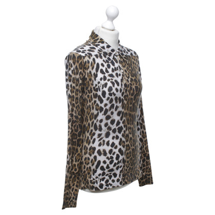Wunderkind top with leopard pattern