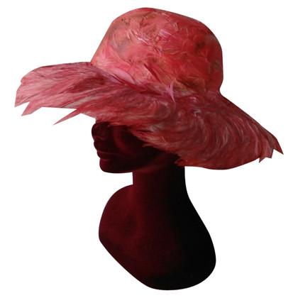 Dolce & Gabbana Hut mit Federn