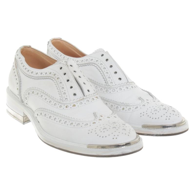 Barbara Bui Chaussures à lacets en cuir Acheter Barbara