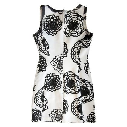 Versace Robe en noir et blanc