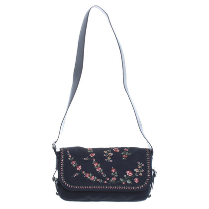 John Galliano Shoulder bag with embroidery